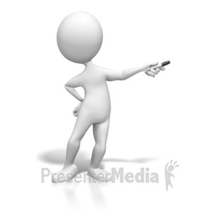 Figurine clipart data chart Figure Pen With PowerPoint and