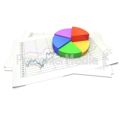 Figurine clipart data chart Pie Sheet Data PowerPoint and