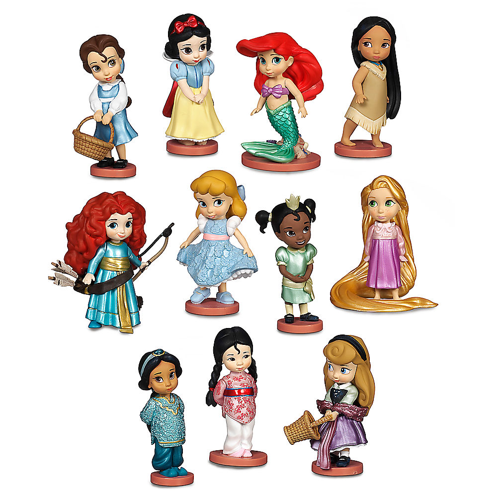 Figurine clipart data collection Set Disney Disney Play Set