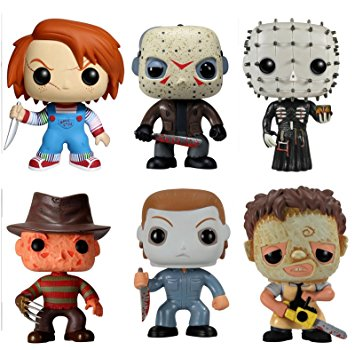 Figurine clipart data collection (Set of Horror Vinyl POP!