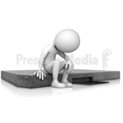 Depression clipart hopeless Sitting Depressed PowerPoint Art