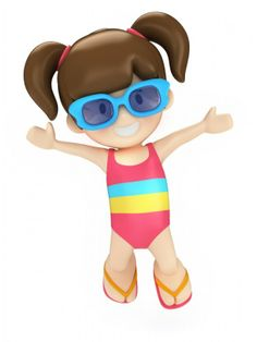 3D clipart kid 3D 3d Family CUTE Photos