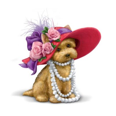 Figurine clipart hat Itively Playful hat puppy Playful