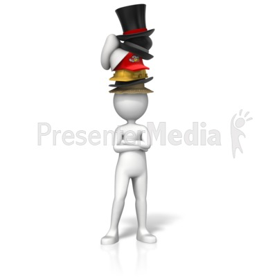 Figurine clipart hat Hats wearing ID# two Presentation