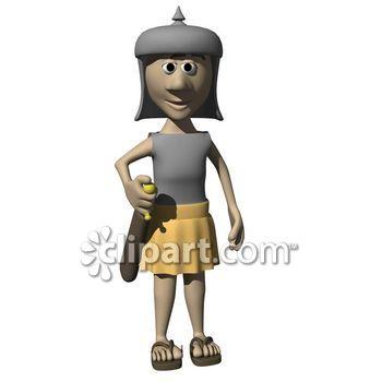 Figurine clipart historical Person School caricature Demo male