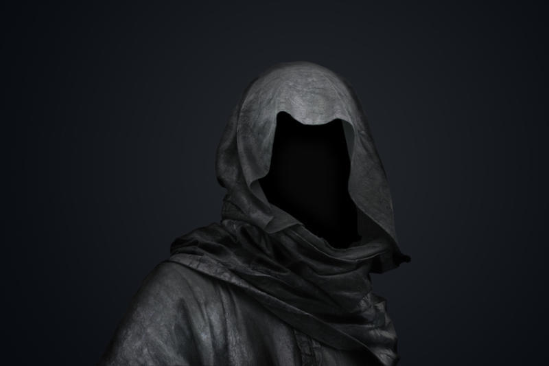 Figurine clipart hooded Figure Tumblr mysterious a mysterious