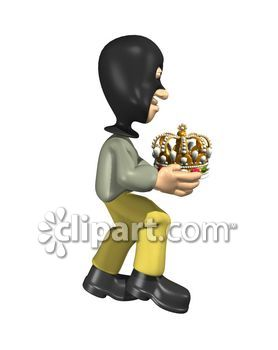 Figurine clipart hooded Stealing away