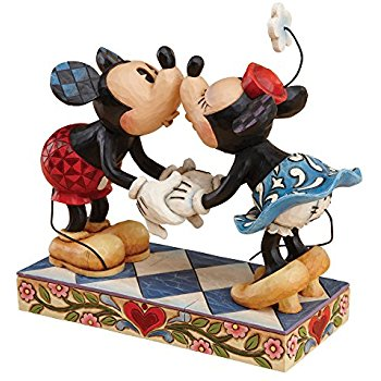 Figurine clipart interpretation Amazon by Kissing Mickey Mouse