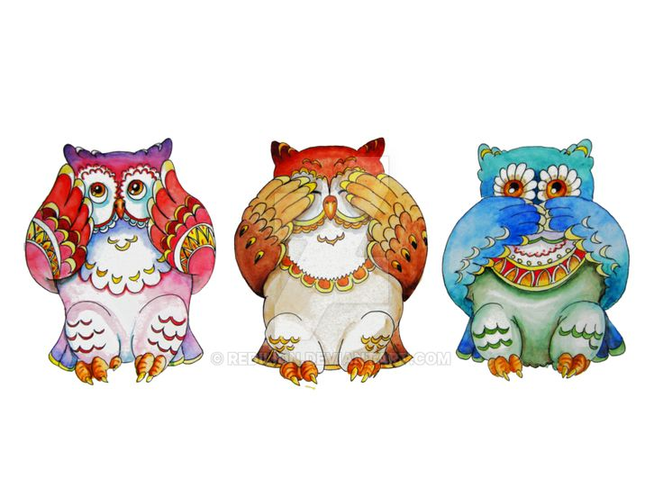 Figurine clipart interpretation Images owls best deviantart Pinterest