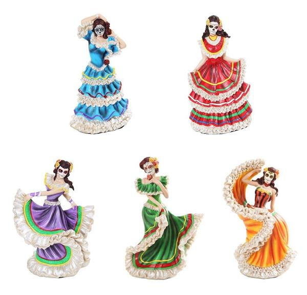 Figurine clipart mexican Senorita 5 Figurine Dead