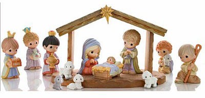 Figurine clipart nativity Gallery Picture Collector's 13pc 30th