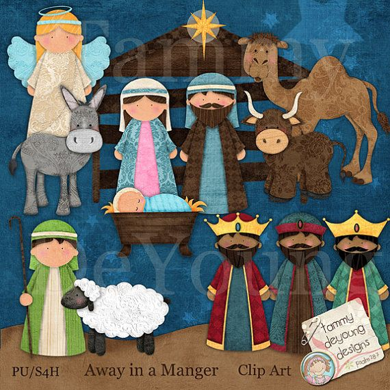 Figurine clipart nativity Clipart Images images best scene