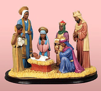 Figurine clipart nativity Scenes Nativity Nativity Scene Black