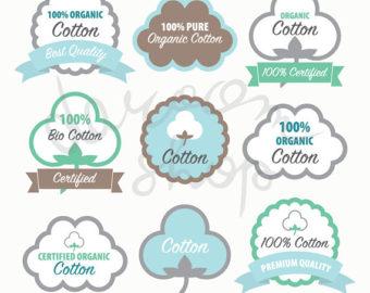 Figurine clipart organik Clip Set/Label Vector_labels Etsy Organic