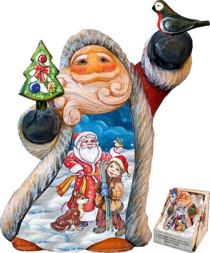 Figurine clipart rich  best Santa figurines 25+