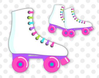 Blue clipart roller skate Roller art art Roller Skates