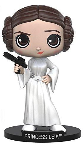 Figurine clipart scratch head Wobbler Princess Star Leia Bobble