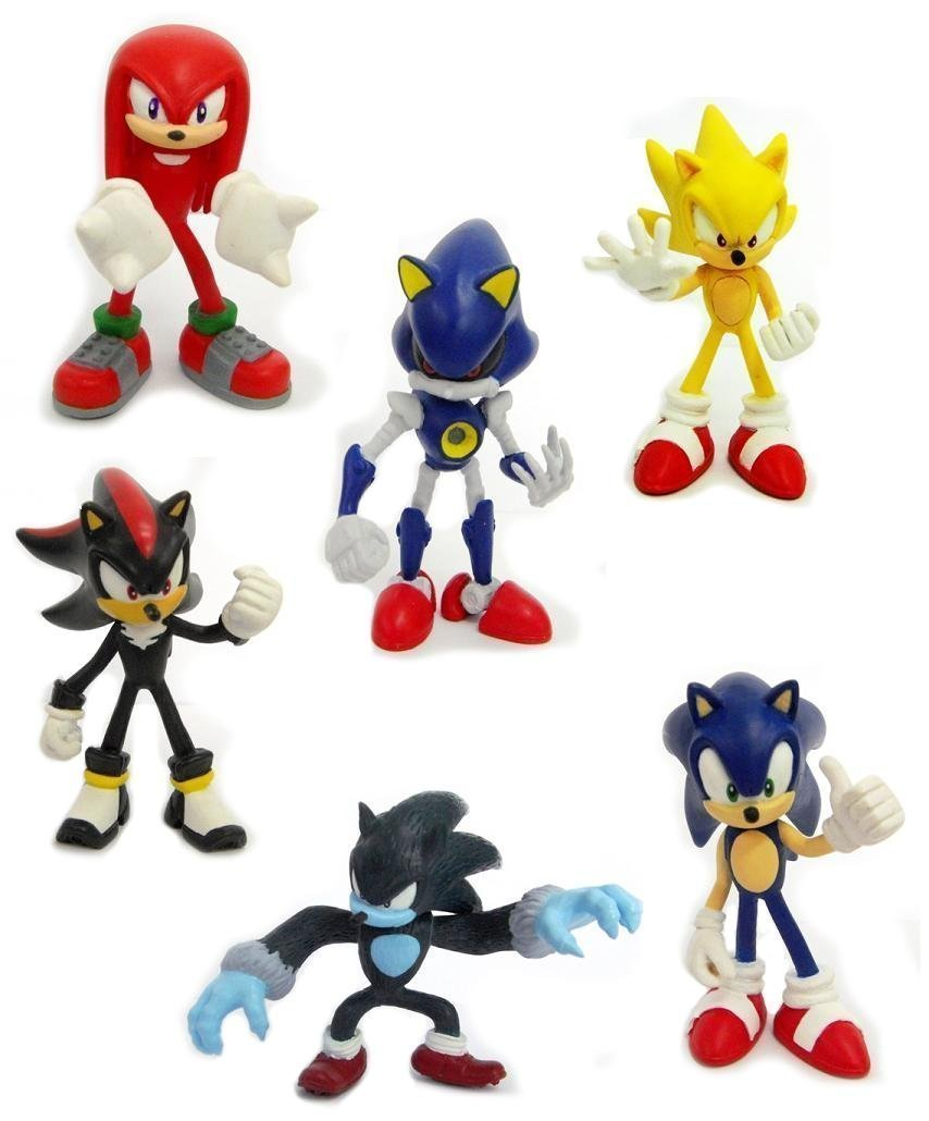Figurine clipart shadow The 5  Buildable Sonic
