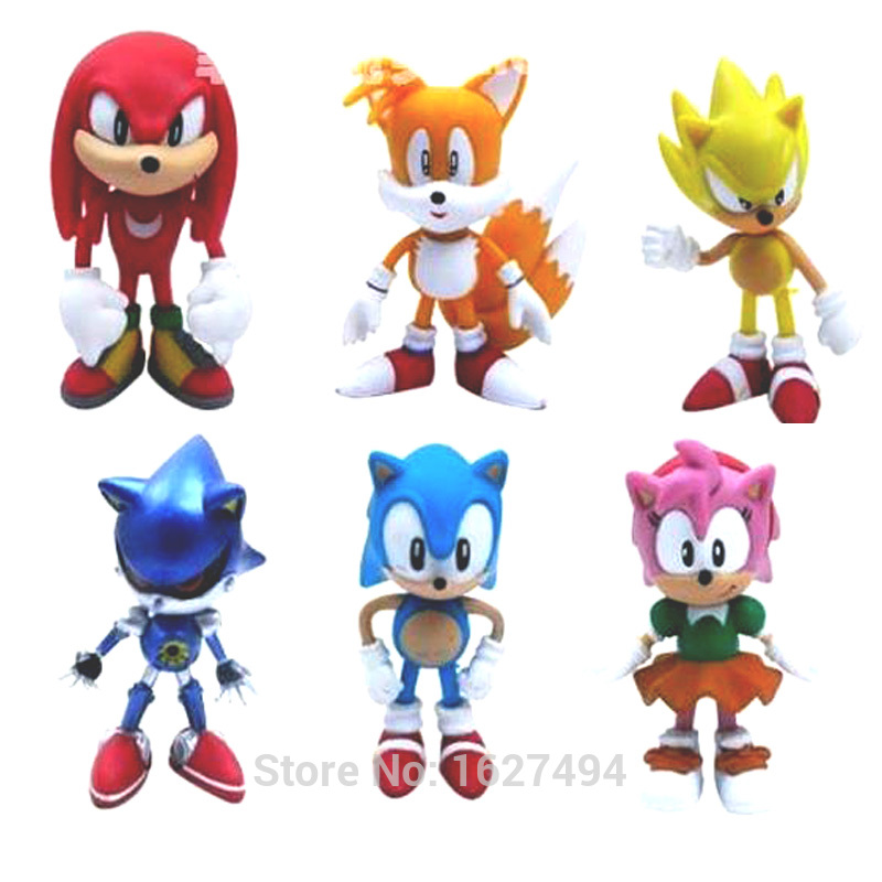Figurine clipart shadow Anime Anime Figures Popular 6pcs/set