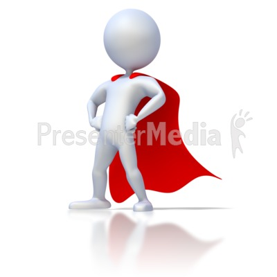 3D clipart superhero And Stick Great Figure Three