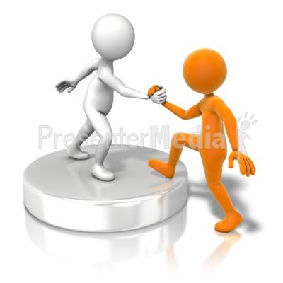 Figurine clipart teamwork PresenterMedia Presentation at In Helping