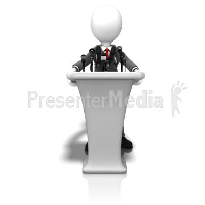 Figurine clipart visio PresenterMedia Meeting com Presentation Business