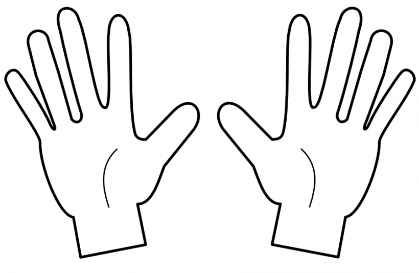 Finger clipart Counting finger counting fingers clipart