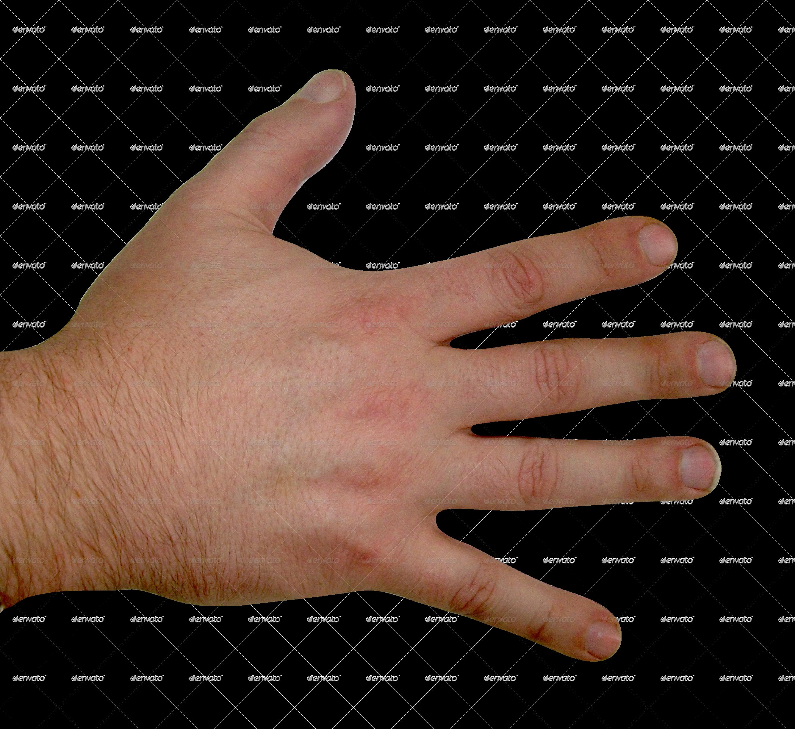 Finger clipart back hand #11