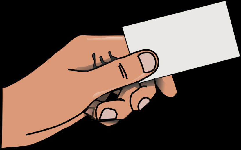 Finger clipart back hand #7