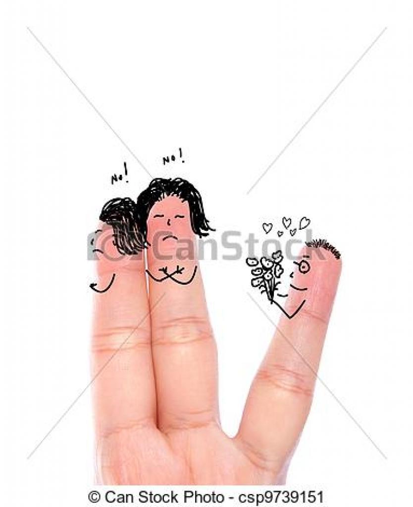 Finger clipart hurt Clipart  woman clipart 383