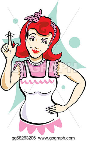 Mommy clipart her As or finger Vector mother