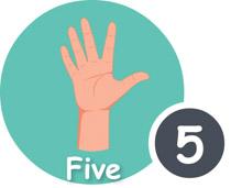 Finger clipart nine #4