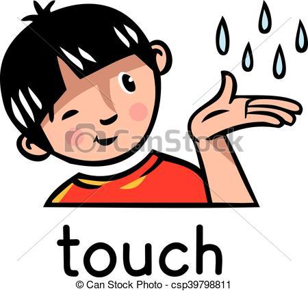 Finger clipart sense touch Touch sense clipart clipart sense