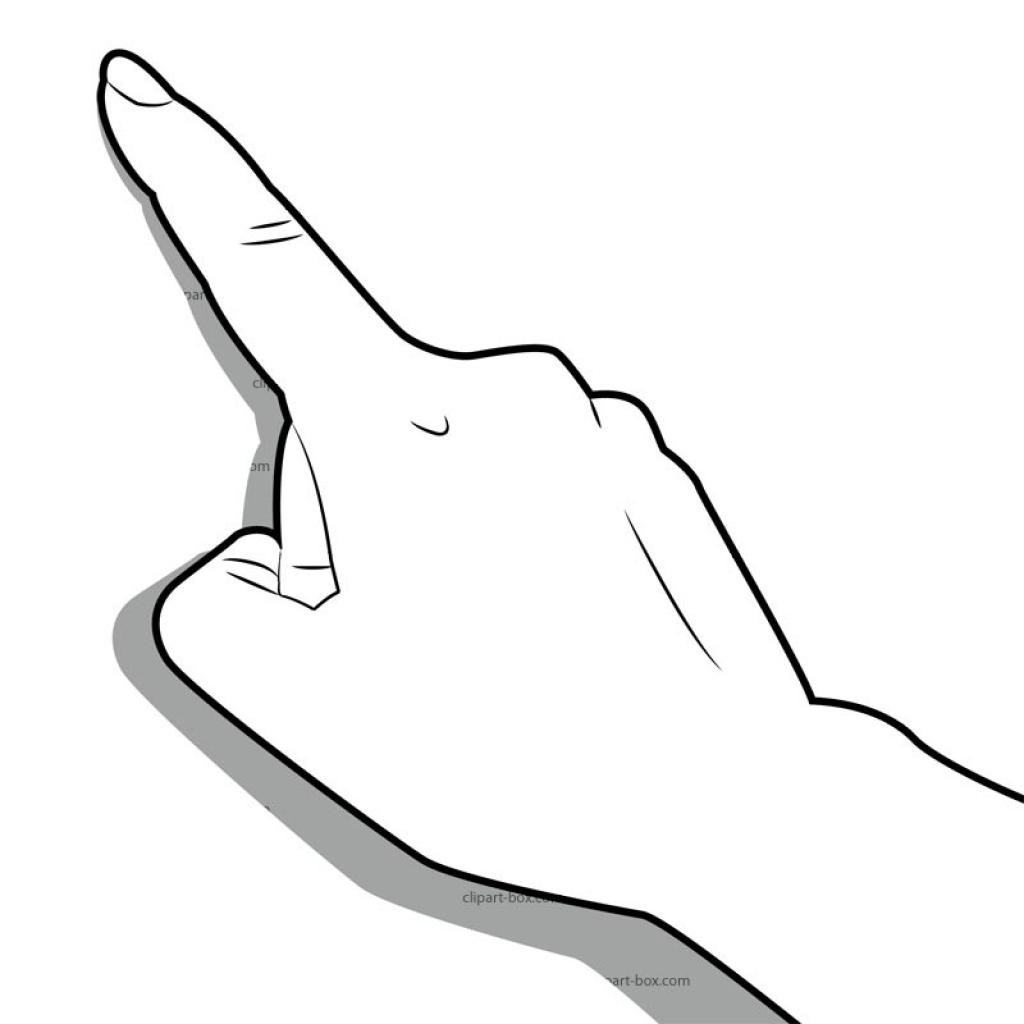 Finger clipart sense touch Tach clipart clipart