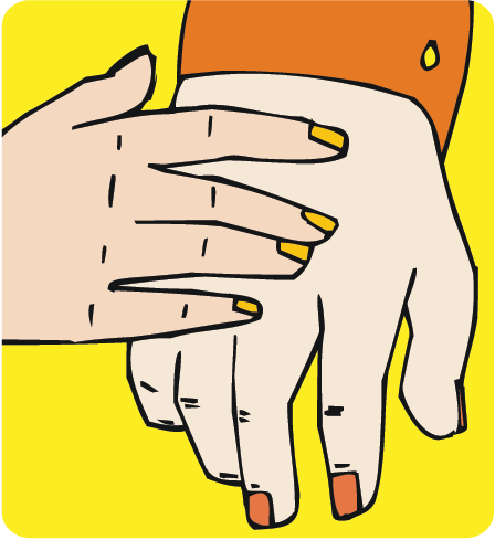 Finger clipart sense touch (Science Touch Television) Senses: (The
