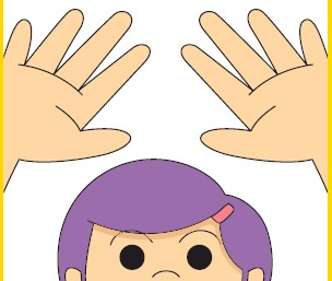 Finger clipart ten little Fingers six Seven fingers little