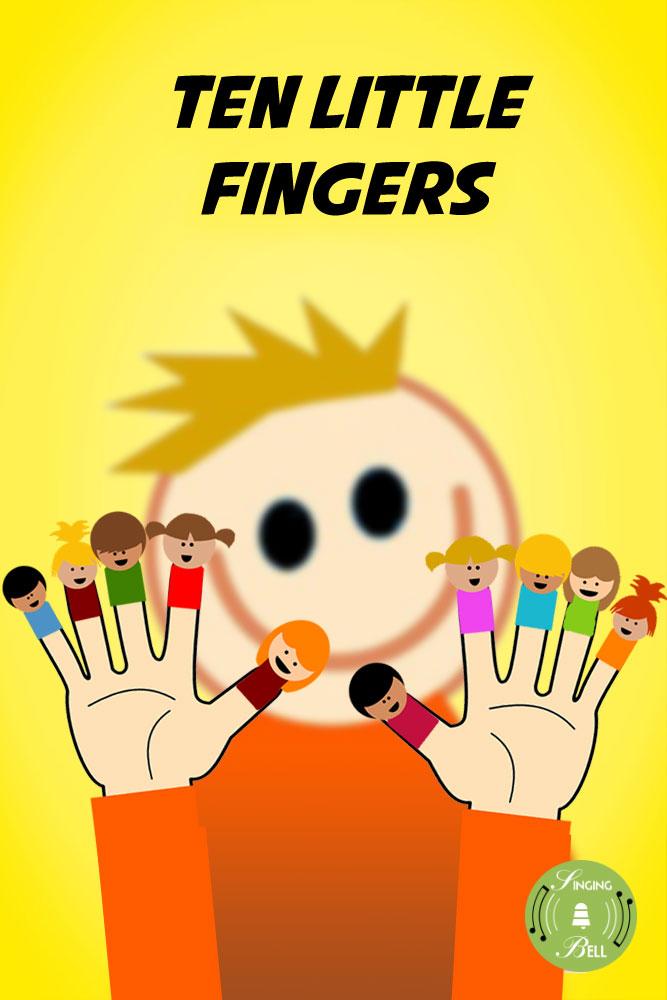 Finger clipart ten little Rhymes audio free Fingers >