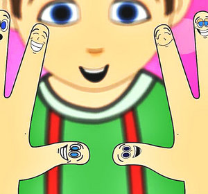 Finger clipart ten little Videogyan For Rhymes Nursery (Ten