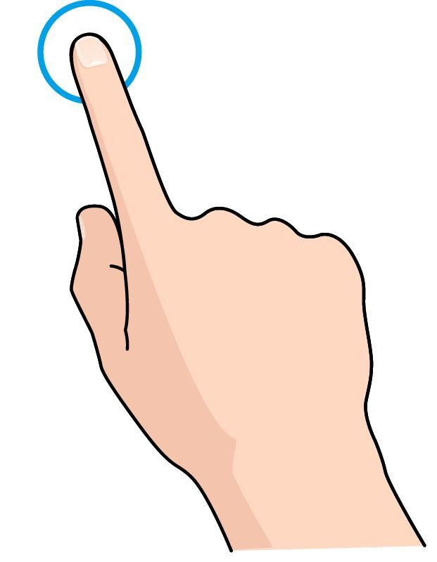 Finger clipart touch Pinterest Поиск touch Search