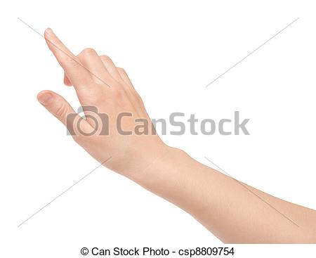 Finger clipart touch Of Screen Virtual Touch Finger