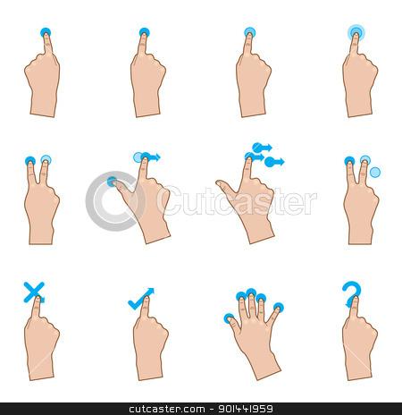 Finger clipart touch Images Art Gestures gesture%20clipart Clip
