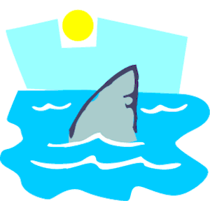Fins clipart large fish Images Fin Shark Free Clip
