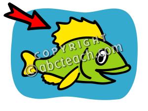 Fins clipart large fish Art Clip Fish Fins