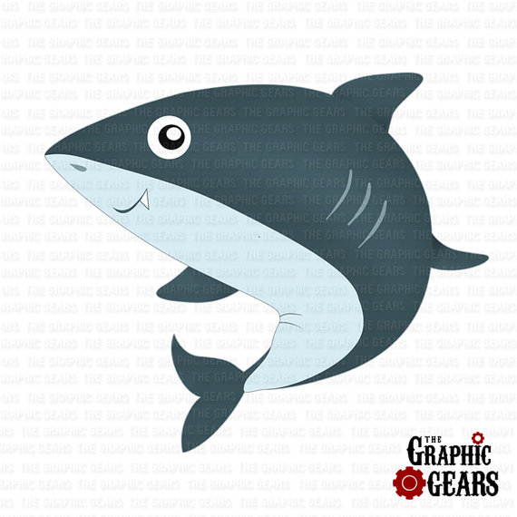 Fins clipart baby shark Fans Shark clip Clipart art