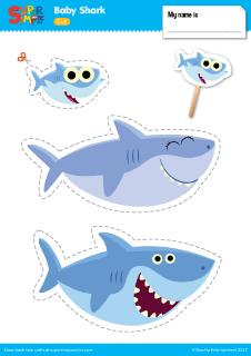 Fins clipart baby shark Shark Resources Shark Baby Super