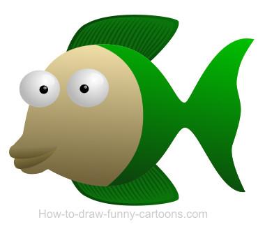 Fins clipart cartoon fish Cartoon Drawing cartoon Fish fish
