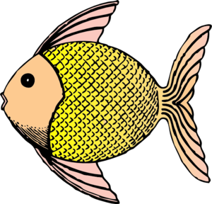 Fins clipart cartoon fish At  Art Clker Clip