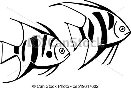Fins clipart fish drawing Fish fin two  dorsal