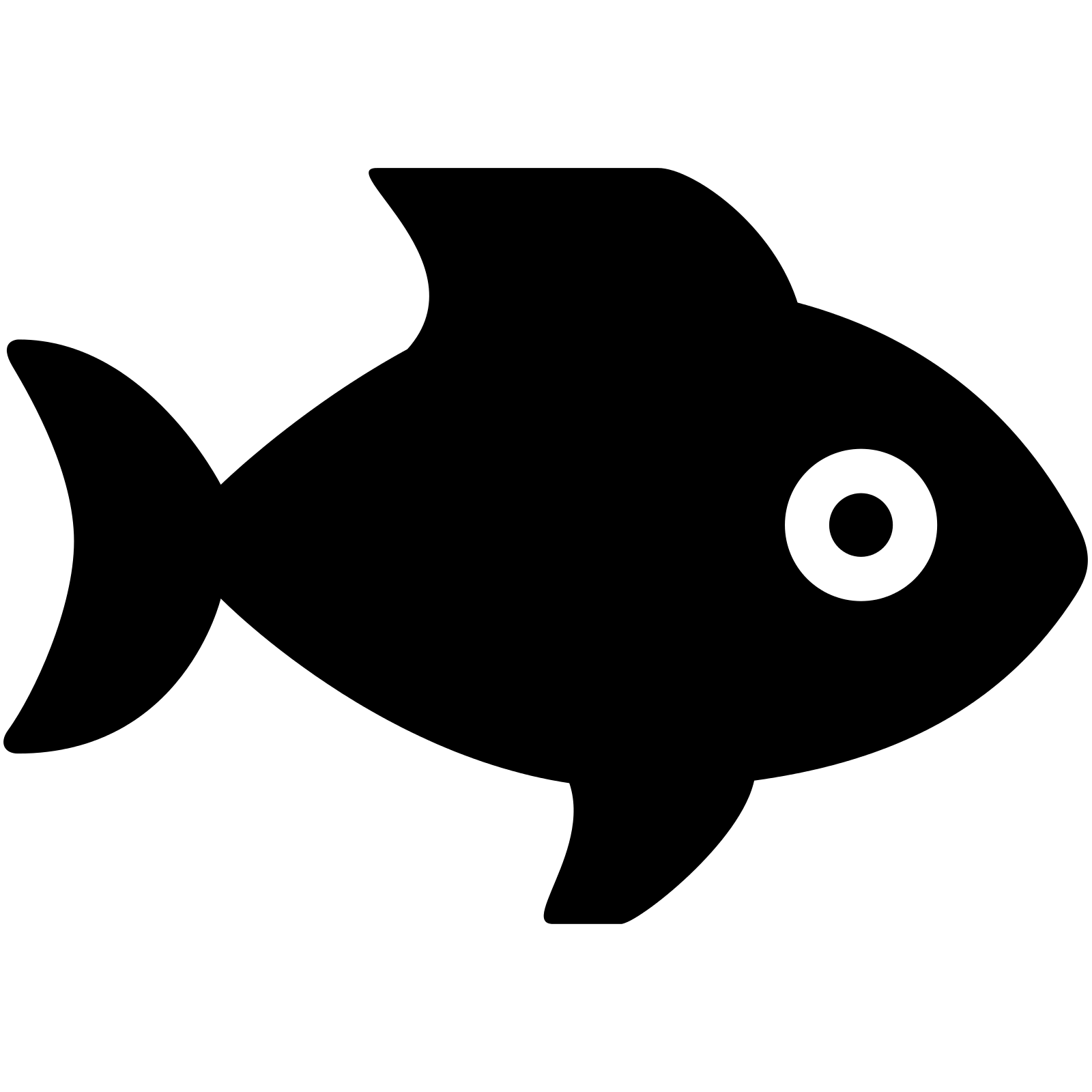 Fins clipart fish food Icon Fish SVG Icon Fish