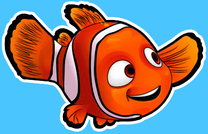 Fins clipart fish nemo With Disney's Step step Draw